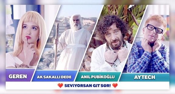 Türkiye'nin İlk İnteraktif Aşk Hikayesi: Seviyorsan Git Sor!